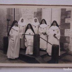 Fotografía antigua: CURIOSA FOTO ANTIGUA MONJAS MERCEDARIAS 18 X 13CM. Lote 71829471