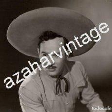 Fotografía antigua: ESPECTACULAR FOTOGRAFIA DE JORGE NEGRETE, 240X180MM. Lote 71931295