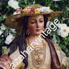Fotografía antigua: FOTOGRAFIA DE LA DIVINA PASTORA DE CANTILLANA, 20X25 CMS. Lote 72899995