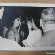 Fotografía antigua: FOTOGRAFIA ORIGINAL DE CARMEN FRANCO POLO Y POSIBLEMENTE LUISA ORTEGA. Lote 72902883