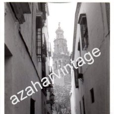 Fotografía antigua: ECIJA, SEVILLA, ANTIGUA FOTOGRAFIA CENTRO URBANO, 76X104MM. Lote 73072563