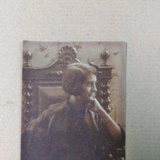 Fotografía antigua: FOTOGRAFIA SOBRE PAPEL DEDICADA Y FECHADA 1917. Lote 73628803