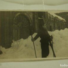Fotografía antigua: FOTO ESQUIADOR ANTIGUA Y ORIGINAL. Lote 73690259