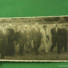 Fotografía antigua: FOTOGRAFIA MINISTRO DE AGRICULTURA Y OTRAS PERSONALIDADES. Lote 73691711