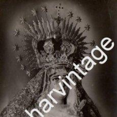 Fotografía antigua: SEMANA SANTA SEVILLA, ANTIGUA FOTOGRAFIA VIRGEN DE LAS LAGRIMAS, EULOGIO DE LAS HERAS,,86X136MM. Lote 73827975