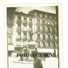 Fotografía antigua: FOTO ORIGINAL MADRID PLAZA DE CASCORRO AÑOS 40/50 - 6X4 CM. Lote 74694787