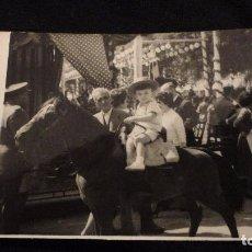 Fotografía antigua: ANTIGUA FOTOGRAFIA.FERIA DE ABRIL.SEVILLA.1960. Lote 74748707