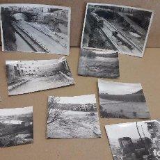 Fotografía antigua: SALLENT ( BARCELONA ) CONJUNTO DE 9 ANTIGUAS FOTOGRAFÍAS A IDENTIFICAR. / VER FOTOS.. Lote 75291239