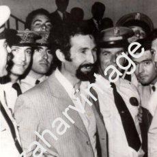Fotografía antigua: SEVILLA, 1973, DETENCION DEL LUTE, POLICIA ARMADA, 130X180MM. Lote 75533351