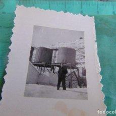 Fotografía antigua: FOTO FOTOGRAFIA DE TREN VAGONES VAGON ESTACION OPERARIOS VIAS. Lote 76974545