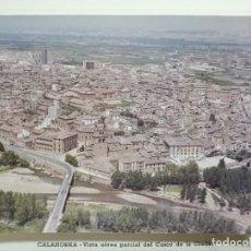 Fotografía antigua: FOTO AEREA CALAHORRA.LA RIOJA.AÑOS 60. FELICITACION ALCALDE.. Lote 77401489