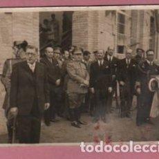 Fotografía antigua: FOTO DEL FOTOGRAFO DE MADRID ORTIZ ,CRUZ,15 VISITA DE FRANCO A MANRESA - ESCUELA PADRE ALGUER . Lote 77807885
