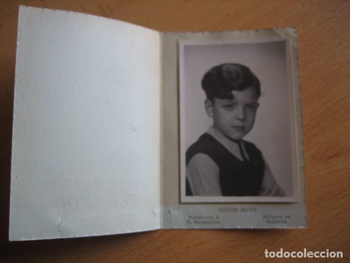 Fotografía antigua: Fotografía niño falangista colegio. Fotos Goya Madrid - Foto 2 - 78413197