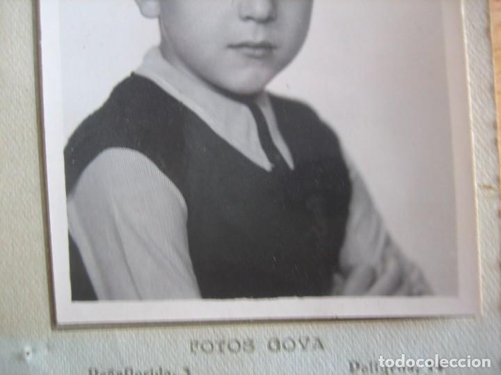 Fotografía antigua: Fotografía niño falangista colegio. Fotos Goya Madrid - Foto 3 - 78413197