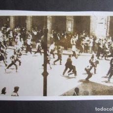 Fotografía antigua: 1931-DISTURBIOS EN PAMPLONA. PRE-GUERRA CIVIL ESPAÑA. FOTO ORIGINAL. GRANDE 21,5X14 CM. Lote 79649409