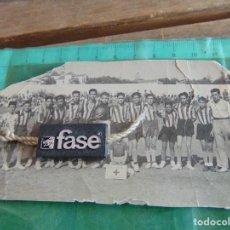 Fotografía antigua: FOTO FOTOGRAFIA DE PARTIDO DE FUTBOL EQUIPOS DE INFANTIL MARBELLA Y ESTEPONA AÑO 1948. Lote 79871261