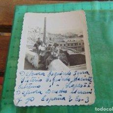 Fotografía antigua - FOTO FOTOGRAFIA EQUIPO JUGADORES DE FUTBOL BETIS ?? SEVILLA ?? JUGADORES DE PAISANO - 79991185