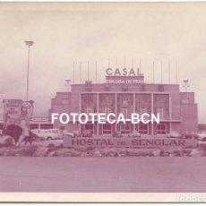 Fotografía antigua: FOTO ORIGINAL HOSTAL DEL SENGLAR ESPLUGA DE FRANCOLI TARRAGONA AÑOS 60 - 12X8 CM. Lote 81096060