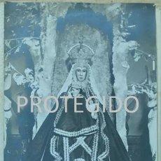 Fotografía antigua: ANTIGUA FOTOGRAFIA DE NUESTRA SEÑORA DE VALVANERA PATRONA DE LA RIOJA. Lote 81235280