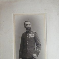 Fotografía antigua: GUERRA MARRUECOS.CAPITAN OVILO.LARACHE.ALCAZAR.CASABLANCA. GENERAL FRANCÉS D'AMADE.1911. GRAN TAMAÑO. Lote 81303540