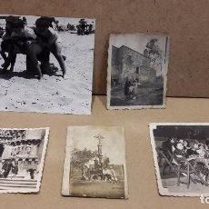 Fotografía antigua: 5 CURIOSAS FOTOGRAFÍAS SIN IDENTIFICAR / PEQUEÑO FORMATO / VER FOTOS ADICIONALES.. Lote 81348012