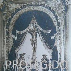 Fotografía antigua: ANTIGUA FOTOGRAFIA DEL SANTISIMO CRISTO DEL SUDOR DE MALON ZARAGOZA. Lote 82120748