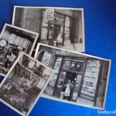Fotografía antigua: (FOT-170440)LOTE DE 4 FOTOGRAFIAS COLMADO VILLO DE BARCELONA. Lote 82304256