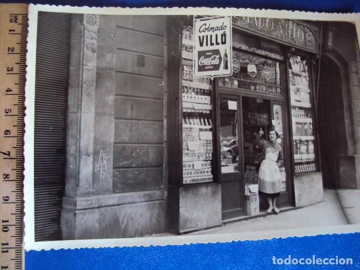 Fotografía antigua: (FOT-170440)LOTE DE 4 FOTOGRAFIAS COLMADO VILLO DE BARCELONA - Foto 3 - 82304256