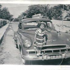 Fotografía antigua: CURIOSA FOTO DEDICADA Y FECHADA EN MERIDA EN 1950. Lote 82650500