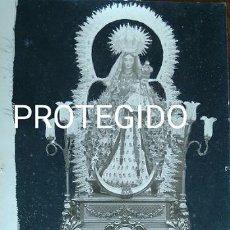 Fotografía antigua: ANTIGUA FOTOGRAFIA DE NUESTRA SEÑORA DE PIEDRAS ALBAS PATRONA DE EL ALMENDRO HUELVA. Lote 83052248