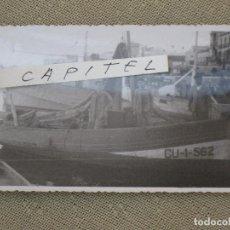 Fotografía antigua: FOTOGRAFIA ANTIGUA DEL BARCO ESPERANZA - MATRICULADO EN CEUTA.. Lote 95945971