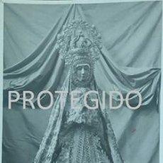 Fotografía antigua: ANTIGUA FOTOGRAFIA DE NUESTRA SEÑORA DEL SOTERRAÑO PATRONA DE BARCARROTA BADAJOZ. Lote 101321270
