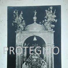 Fotografía antigua: ANTIGUA FOTOGRAFIA DE NUESTRA SEÑORA DE LOS REMEDIOS PATRONA DE CARTAMA MALAGA. Lote 83681032