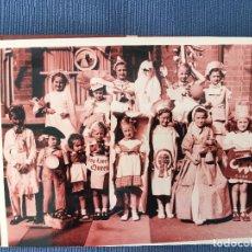 Fotografía antigua: FOTOGRAFÍA DE UNA VIEJA FOTOGRAFÍA DE ALBUM FAMILIAR CREO QUE INGLESA . Lote 83753088