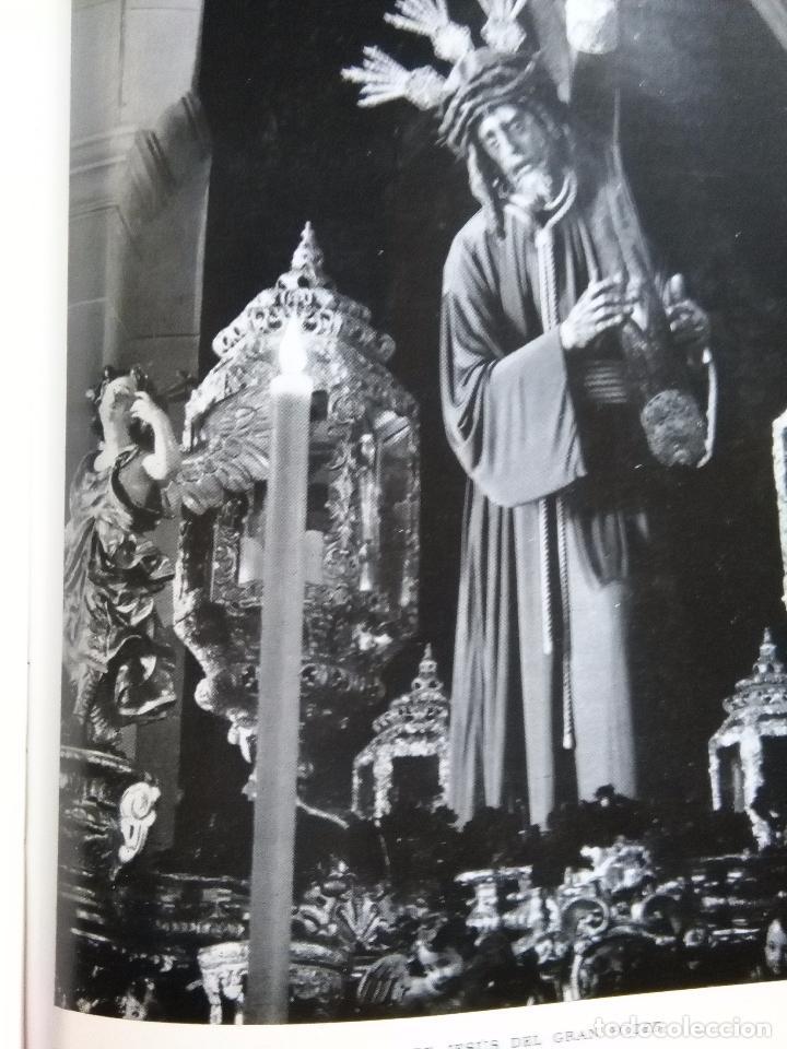 Fotografía antigua: lamina fotografica a 2 cara semana santa sevilla año 60 virgen de la esperanza macarena y gran poder - Foto 2 - 83909188