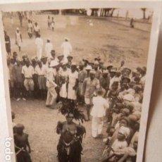 Fotografía antigua: ANTIGUA FOTO DE BAILARINA DE PAMUE 1944 -PEQUEÑA FOTO. Lote 84246256