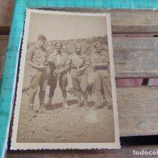 Fotografía antigua: FOTO FOTOGRAFIA MILITAR MILITARES GUERRA CIVIL POSGUERRA LEGION POSICION PEÑON TERUEL1938. Lote 84803664