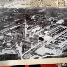 Fotografía antigua: 1950 ANTIGUA FOTO DE LA LABORAL DE GIJÓN GRAN TAMAÑO 27 X 45 CM.. Lote 84975212