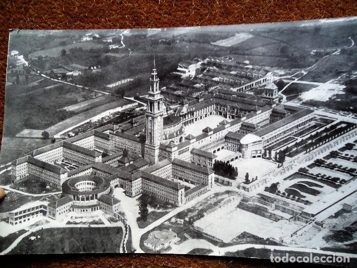Fotografía antigua: 1950 Antigua foto de La Laboral de Gijón gran tamaño 27 x 45 cm. - Foto 2 - 84975212