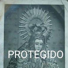 Fotografía antigua: ANTIGUA FOTOGRAFIA DE NUESTRA SEÑORA DEL PRADO DE CASAR DE CACERES. Lote 85169096