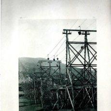 Fotografía antigua: BILBAO. TRANSPORTE DE MINERAL EN ARCOCHA. AÑO 1896. FOTOTIPIA DE HAUSER Y MENET. Nº382.. Lote 85396516