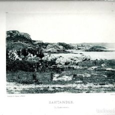 Fotografía antigua: SANTANDER.EL SARDINERO. AÑO 1896. FOTOTIPIA DE HAUSER Y MENET. Nº172.. Lote 85410244