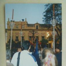 Fotografía antigua: SEMANA SANTA DE SEVILLA : PASO DE CRISTO CRUCIFICADO. Lote 85753448