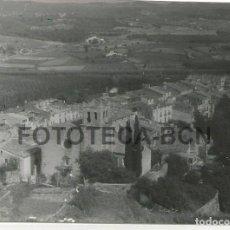 Fotografía antigua: FOTO ORIGINAL HOSTALRIC VISTA GENERAL AÑO 1964 - 10X7 CM. Lote 85901248