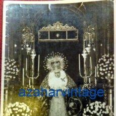 Fotografía antigua: SEMANA SANTA SEVILLA, 1964, NTRA.SRA.DE LA ESPERANZA , LA TRINIDAD, FOT.HARETON, 72X105MM. Lote 86139152