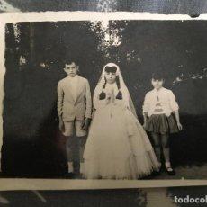 Fotografía antigua: ANTIGUA FOTOGRAFÍA COMUNIÓN AÑOS 60. Lote 86367880