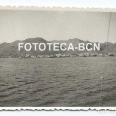 Fotografía antigua: FOTO ORIGINAL POLLENSA MALLORCA TURISMO BALEARES AÑO 1948 - 8X5,5 CM. Lote 86438700
