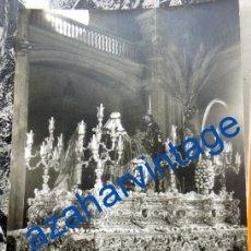 Fotografía antigua: SEMANA SANTA SEVILLA,ANTIGUA FOTOGRAFIA PASO SAGRADA ENTRADA EN JERUSALEN, FERNAND,90X140MM. Lote 86626268