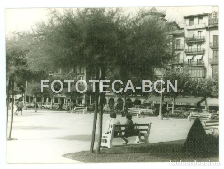 FOTO ORIGINAL PLAZA DEL CASTILLO PAMPLONA AÑO 1962 - 10X7 CM (Fotografía Antigua - Fotomecánica)