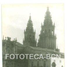 Fotografía antigua: FOTO ORIGINAL CATEDRAL SANTIAGO DE COMPOSTELA GALICIA AÑO 1962 - 10X7 CM. Lote 86719828